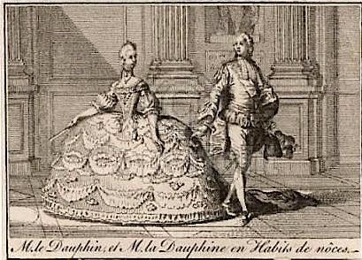 L'habit de mariage de Marie-Antoinette Marie-10