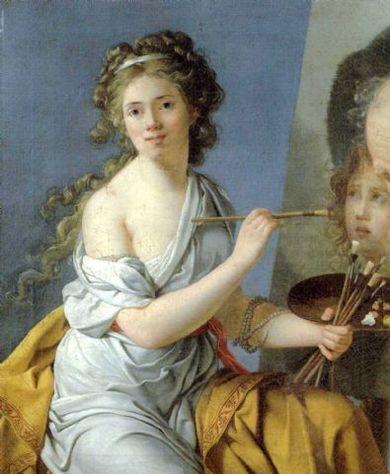 Femme et peintre, Marie-Guillemine Benoît  ( 1768 - 1826 ) Marie-22