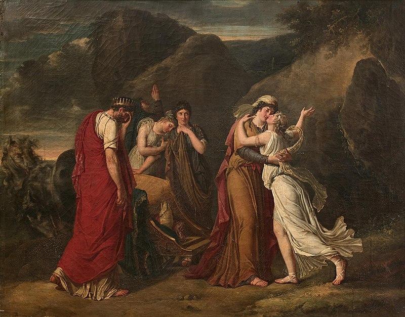 Femme et peintre, Marie-Guillemine Benoît  ( 1768 - 1826 ) Marie-23