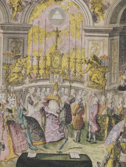 L'habit de mariage de Marie-Antoinette Mariea10