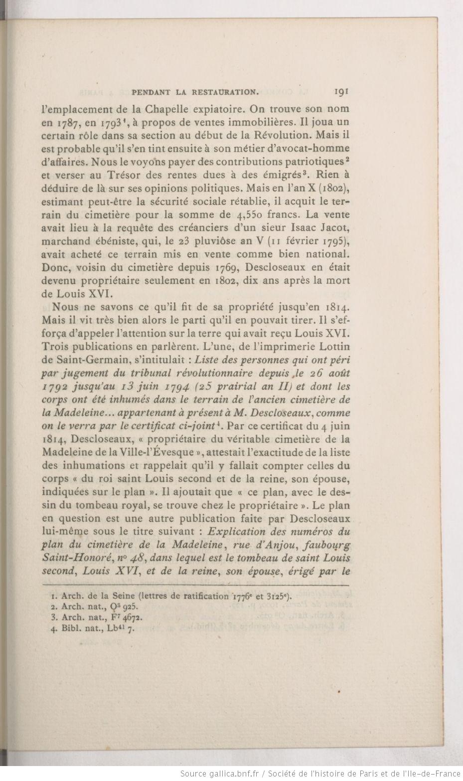 La chapelle expiatoire du square Louis XVI, à Paris - Page 3 Mzomoi11