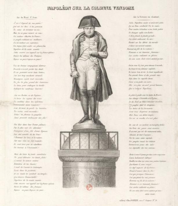 Vandalisme révolutionnaire, les statues des rois abattues Napole10
