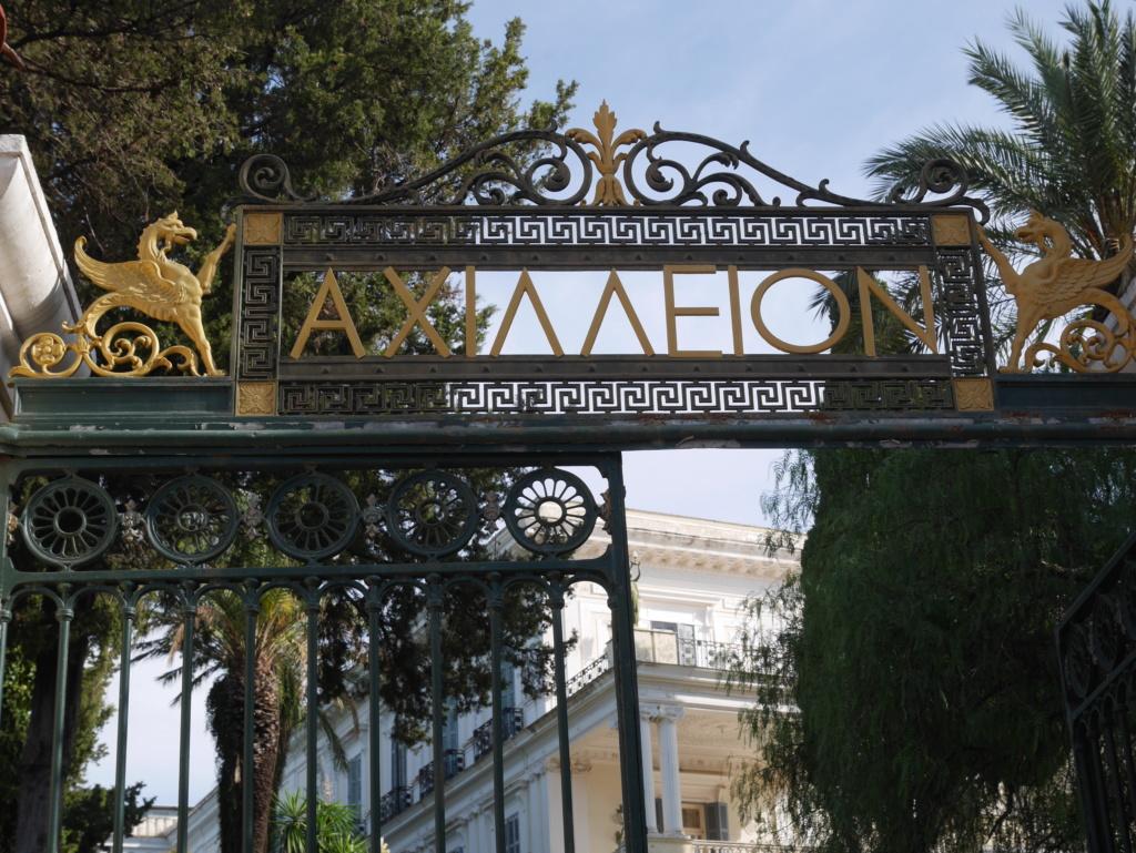 Achilleion, le palais de l'impératrice SISSI  P1070810