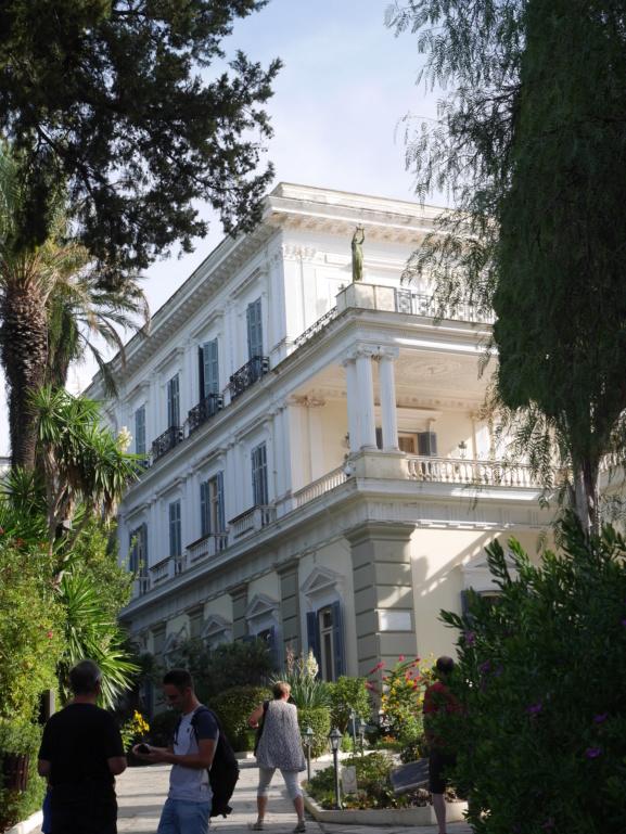Achilleion, le palais de l'impératrice SISSI  P1070811