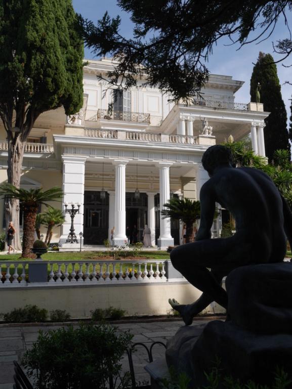 Achilleion, le palais de l'impératrice SISSI  P1070812