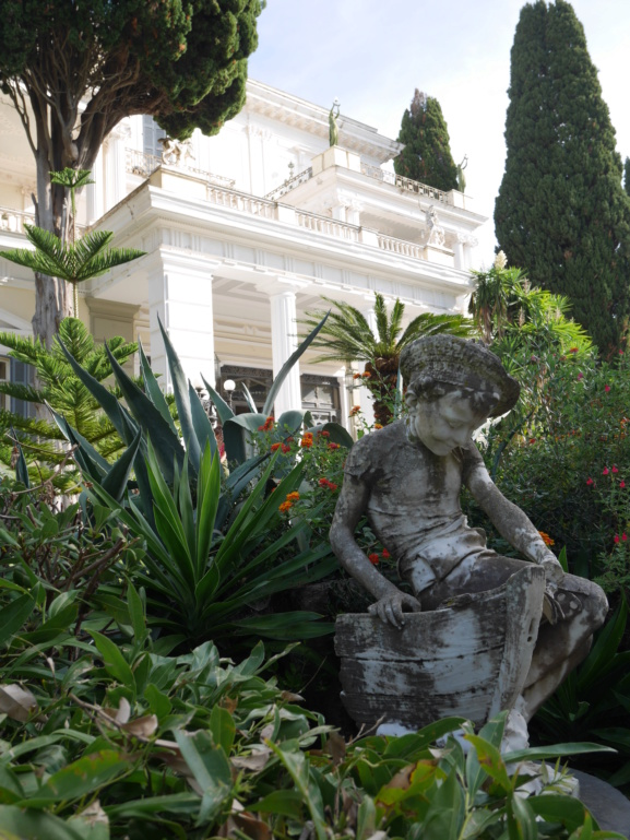 Achilleion, le palais de l'impératrice SISSI  P1070814