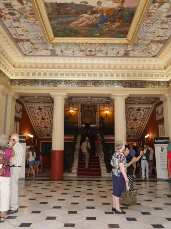 Achilleion, le palais de l'impératrice SISSI  P1070817