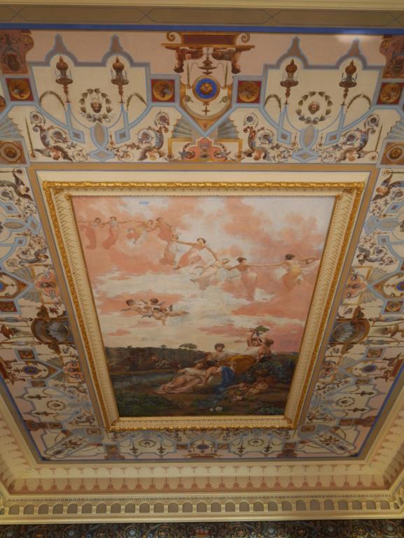 Achilleion, le palais de l'impératrice SISSI  P1070818