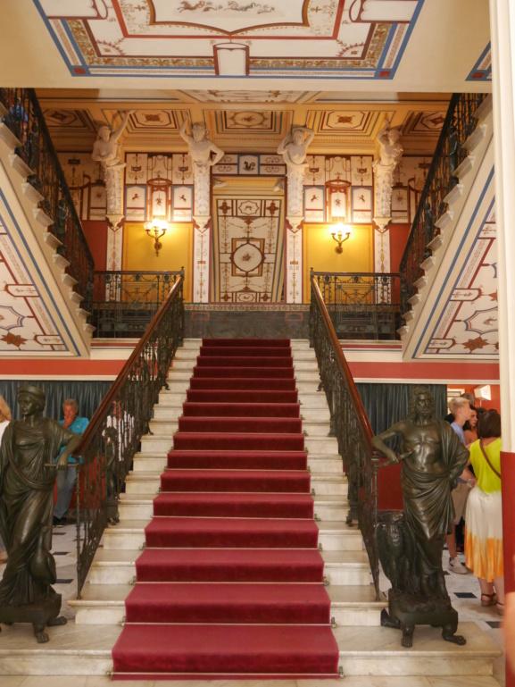 Achilleion, le palais de l'impératrice SISSI  P1070821