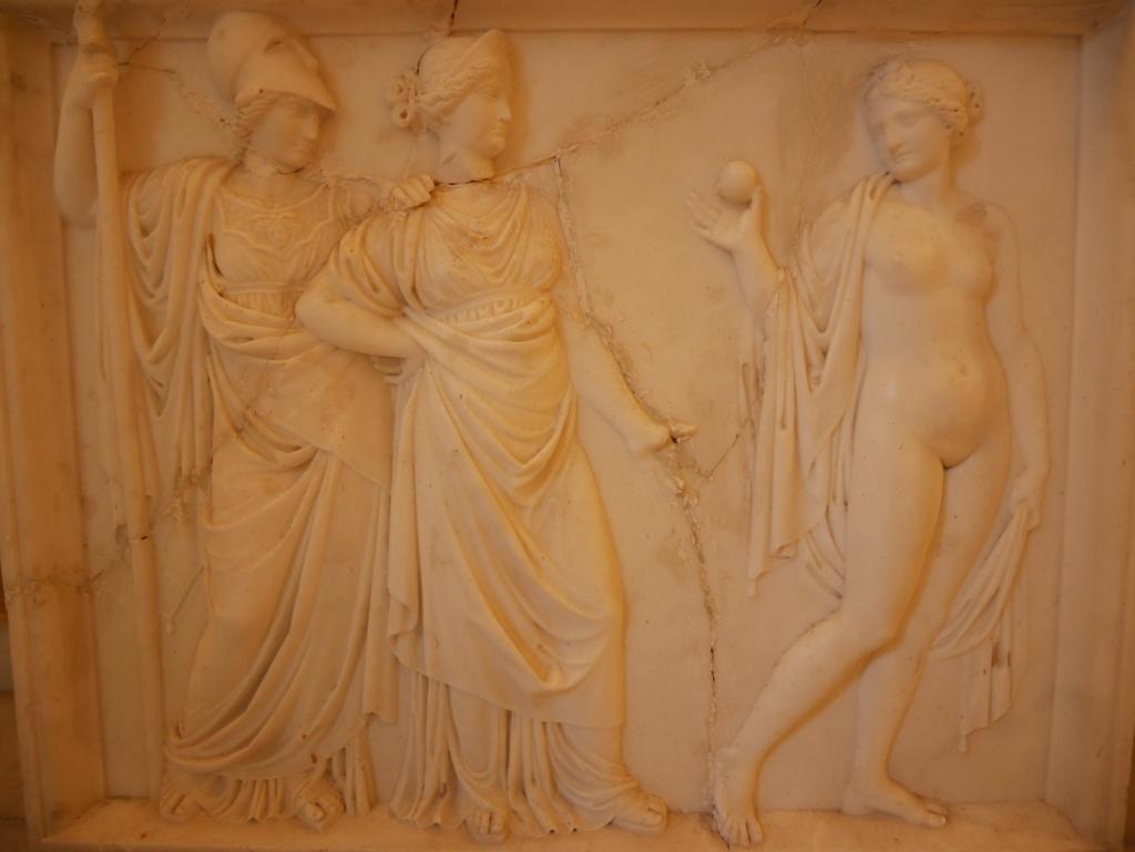 Achilleion, le palais de l'impératrice SISSI  P1070824