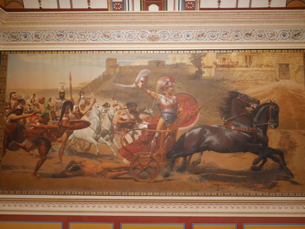 Achilleion, le palais de l'impératrice SISSI  P1070827