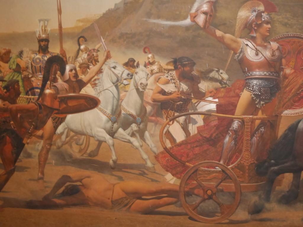 Achilleion, le palais de l'impératrice SISSI  P1070828