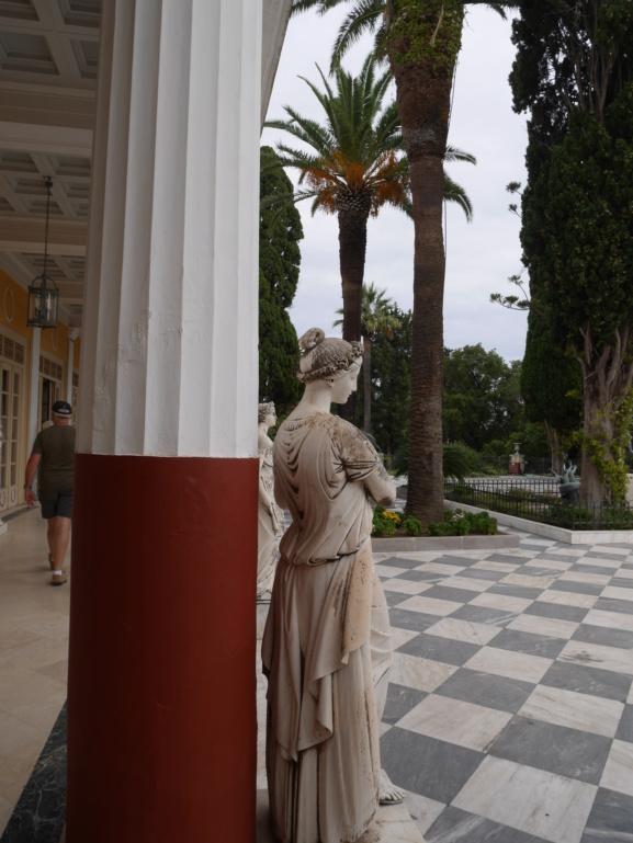 Achilleion, le palais de l'impératrice SISSI  P1070830