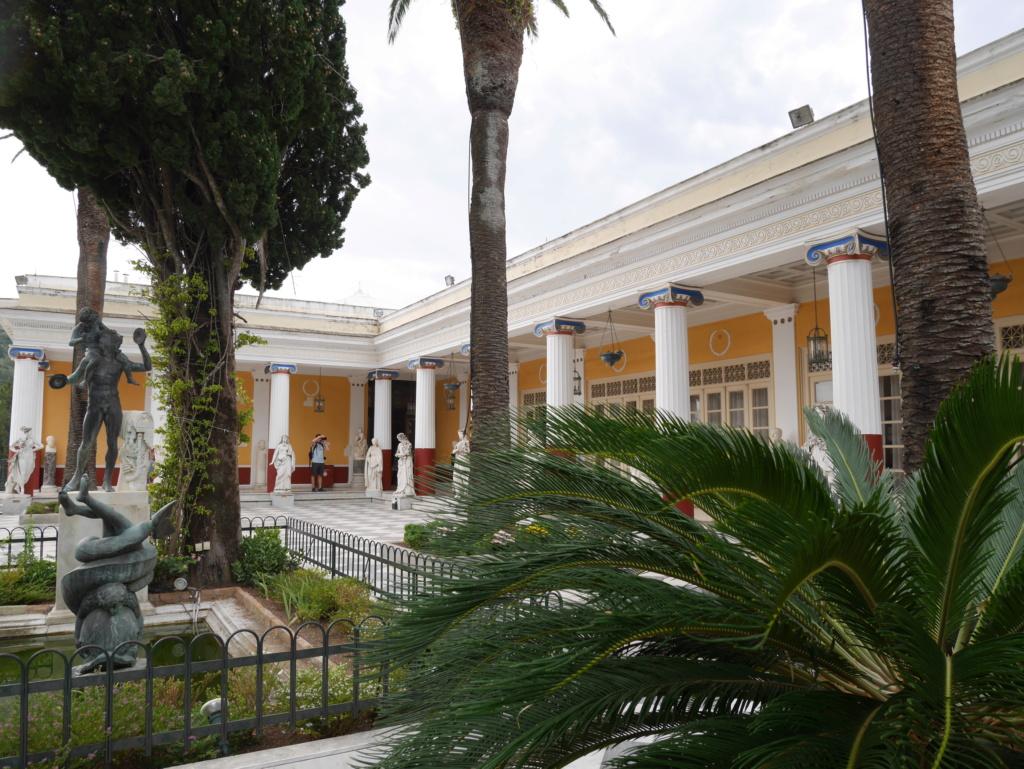 Achilleion, le palais de l'impératrice SISSI  P1070831