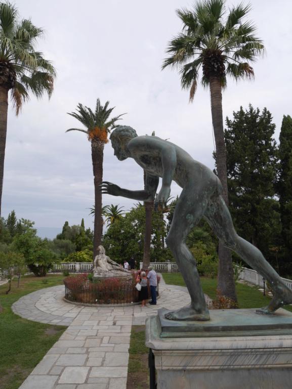 Achilleion, le palais de l'impératrice SISSI  P1070834