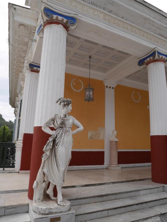 Achilleion, le palais de l'impératrice SISSI  P1070836