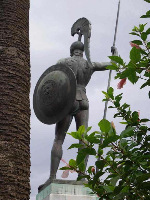 Achilleion, le palais de l'impératrice SISSI  P1070840
