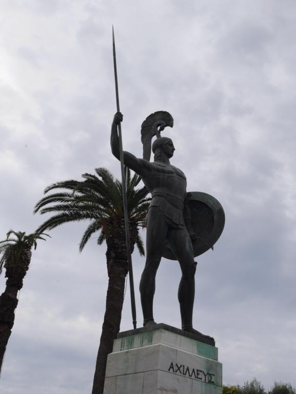 Achilleion, le palais de l'impératrice SISSI  P1070841