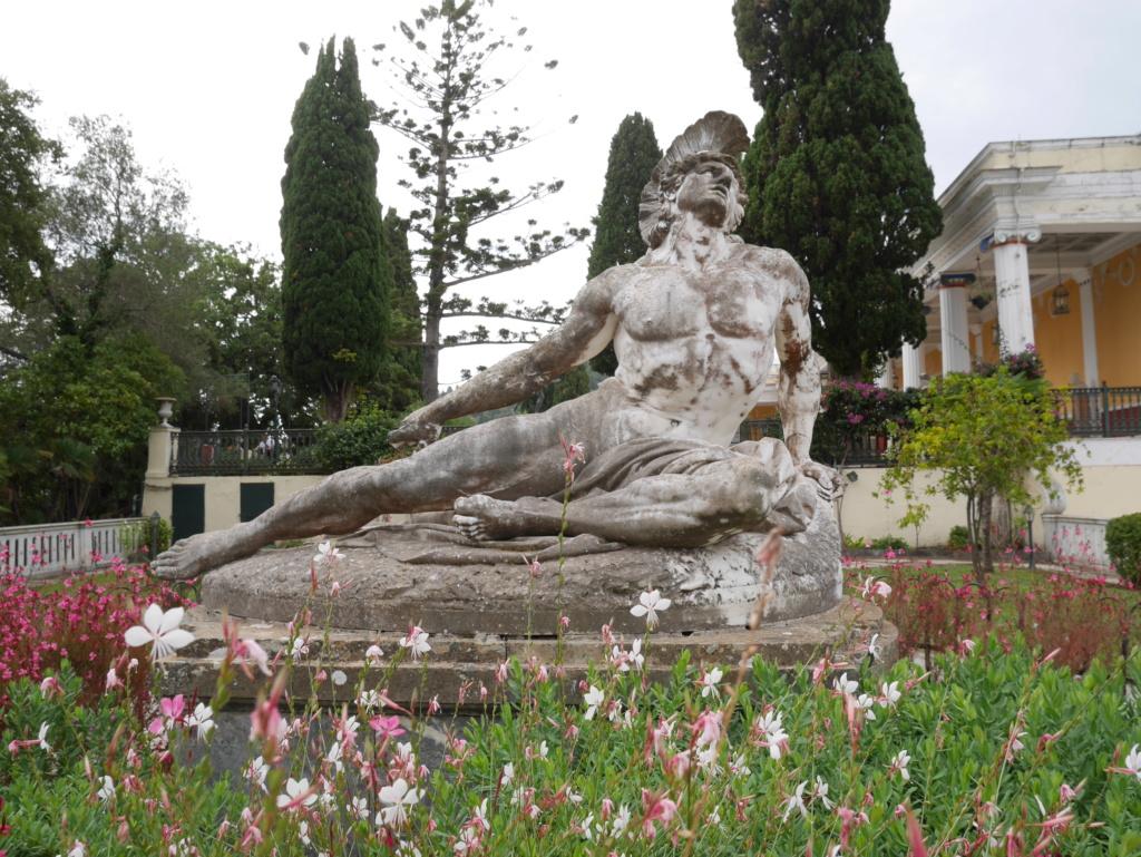 Achilleion, le palais de l'impératrice SISSI  P1070843
