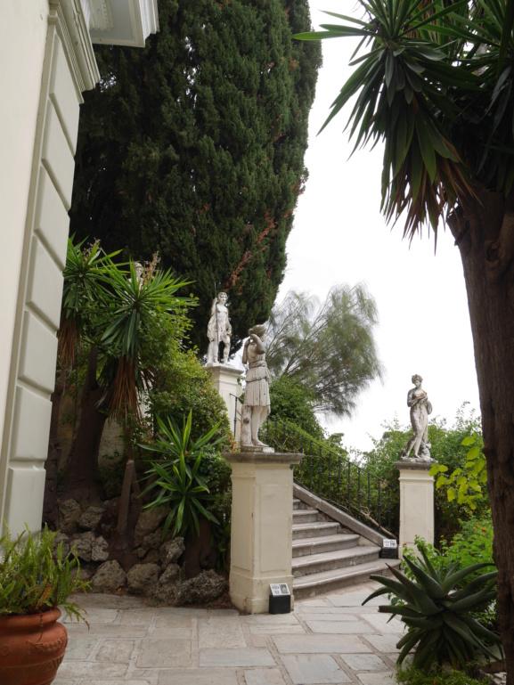 Achilleion, le palais de l'impératrice SISSI  P1070855