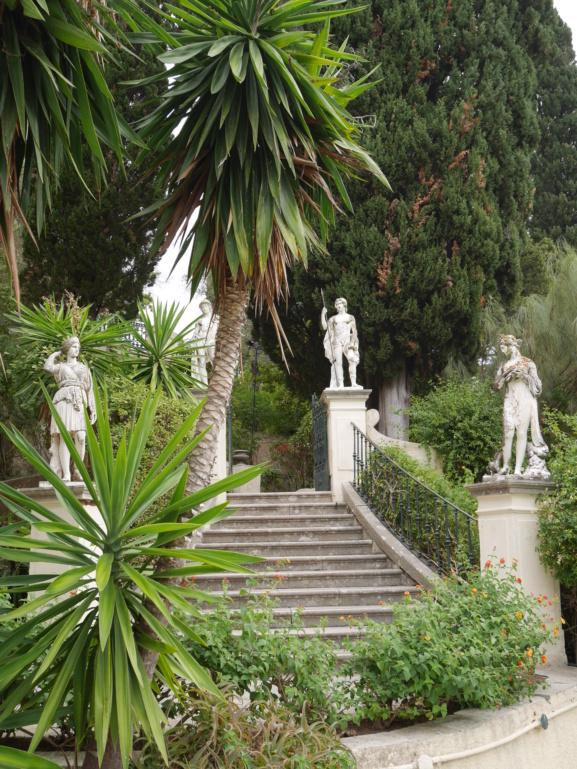 Achilleion, le palais de l'impératrice SISSI  P1070856