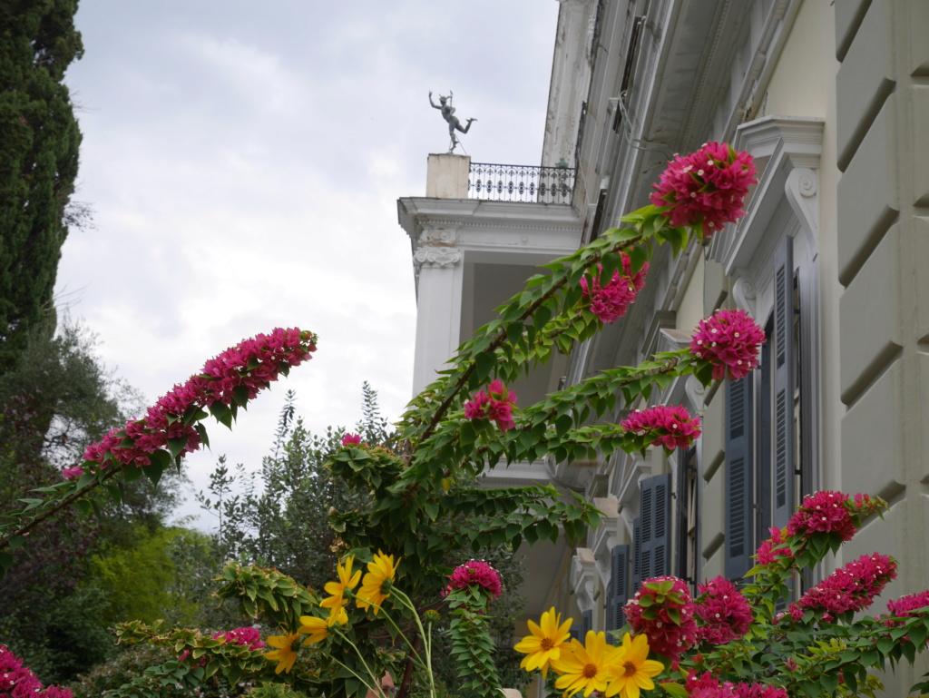 Achilleion, le palais de l'impératrice SISSI  P1070857