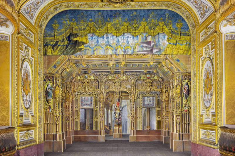 Le Petit Théâtre de Marie-Antoinette à Trianon - Page 4 Palais12