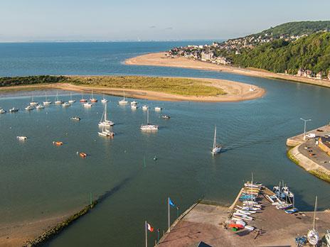 En Normandie,  Dives-sur-mer et la Maison Bleue Presen10