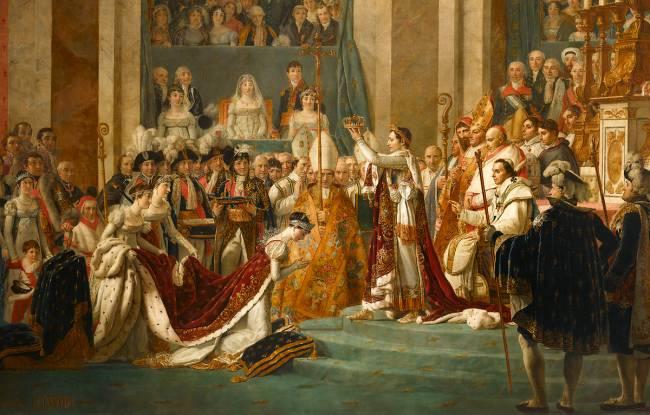 Napoléon et les femmes Sacre_10
