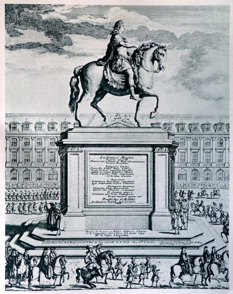 Vandalisme révolutionnaire, les statues des rois abattues Statue16