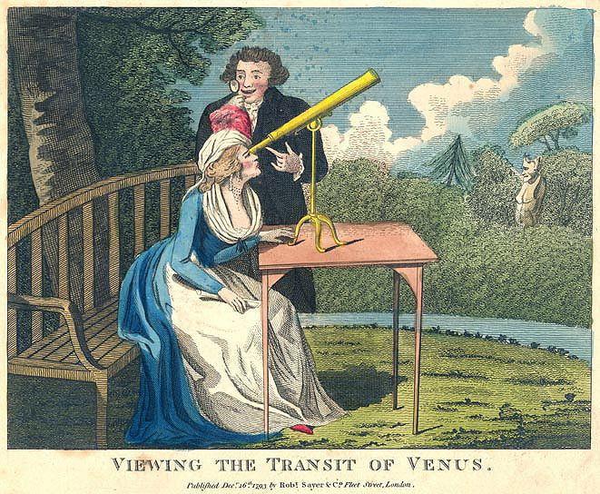 Le transit de Vénus,   en juin 1769 Svvurr10