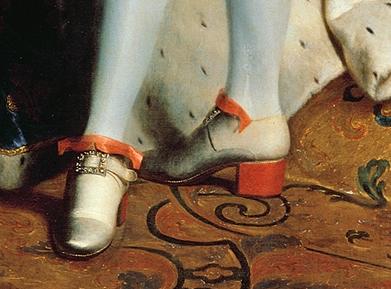 Chaussures et souliers du XVIIIe siècle Talons10