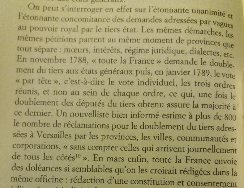 Sept jours : 17-23 juin 1789. La France entre en révolution. De Emmanuel de Waresquiel Thumb122
