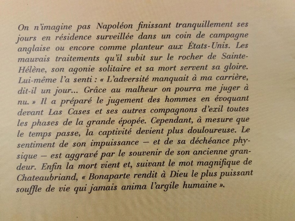 Bibliographie : bicentenaire de la mort de l'empereur Napoléon Ier Thumb247