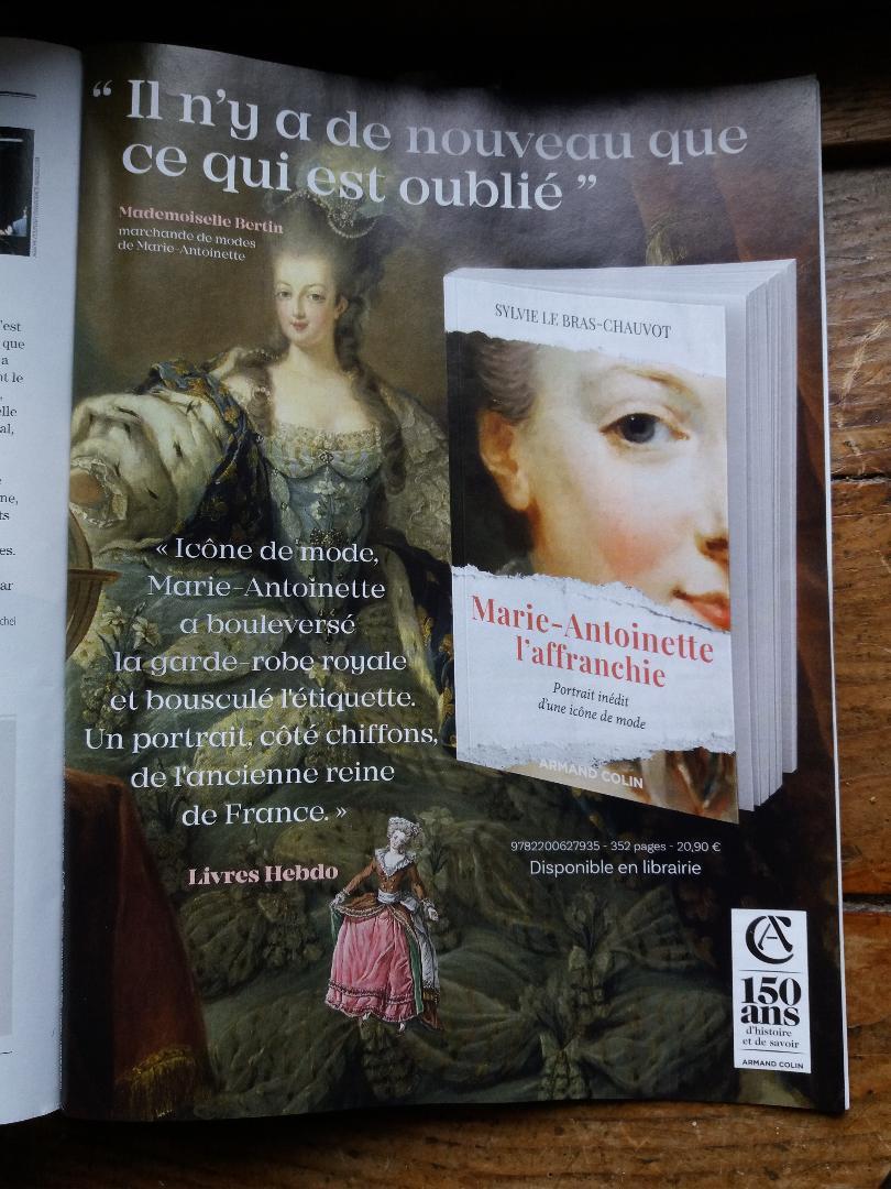 Marie-Antoinette l'affranchie,   de Sylvie Le Bras-Chauvot   - Page 2 Thumbn19