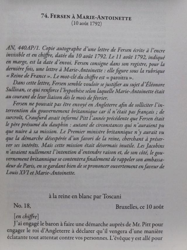 La correspondance de Marie-Antoinette et Fersen : lettres, lettres chiffrées et mots raturés - Page 25 Thumbn62