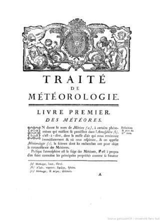 Un pionnier de la Météorologie, l'abbé Cotte ( 1740 - 1815 ) Traitz11