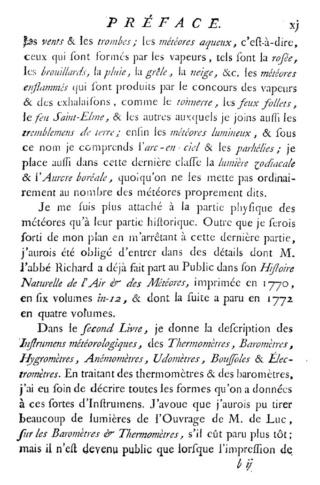 Un pionnier de la Météorologie, l'abbé Cotte ( 1740 - 1815 ) Traitz13