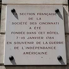L'Ordre de Cincinnatus & la Société des Cincinnati Tzolz119