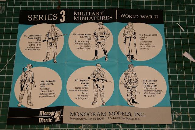 Soldat sudiste marque Monogram 54mm 1210