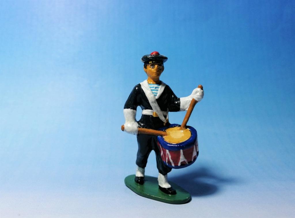 Marin avec tambour marque Quiralu 1/32 Img_2501