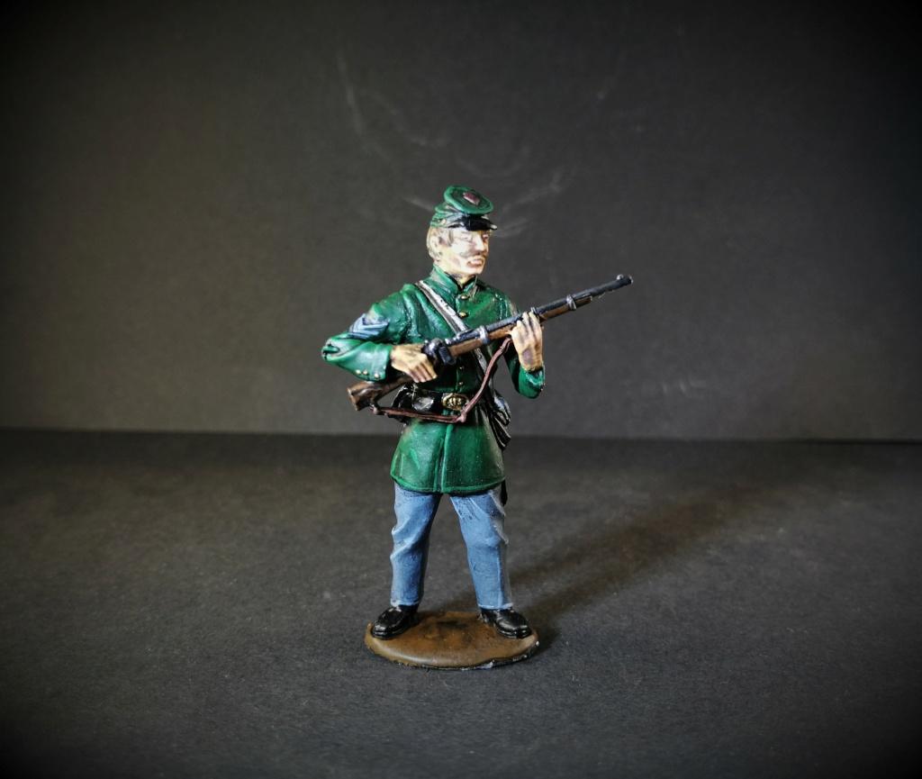 Sgt du Berdan's Sharpshooter, armée du Potomac marque Monogram 54mm Img_2855