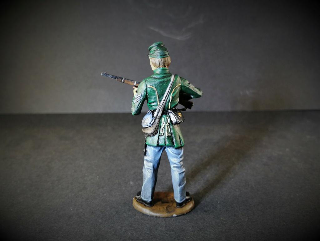 Sgt du Berdan's Sharpshooter, armée du Potomac marque Monogram 54mm Img_2856