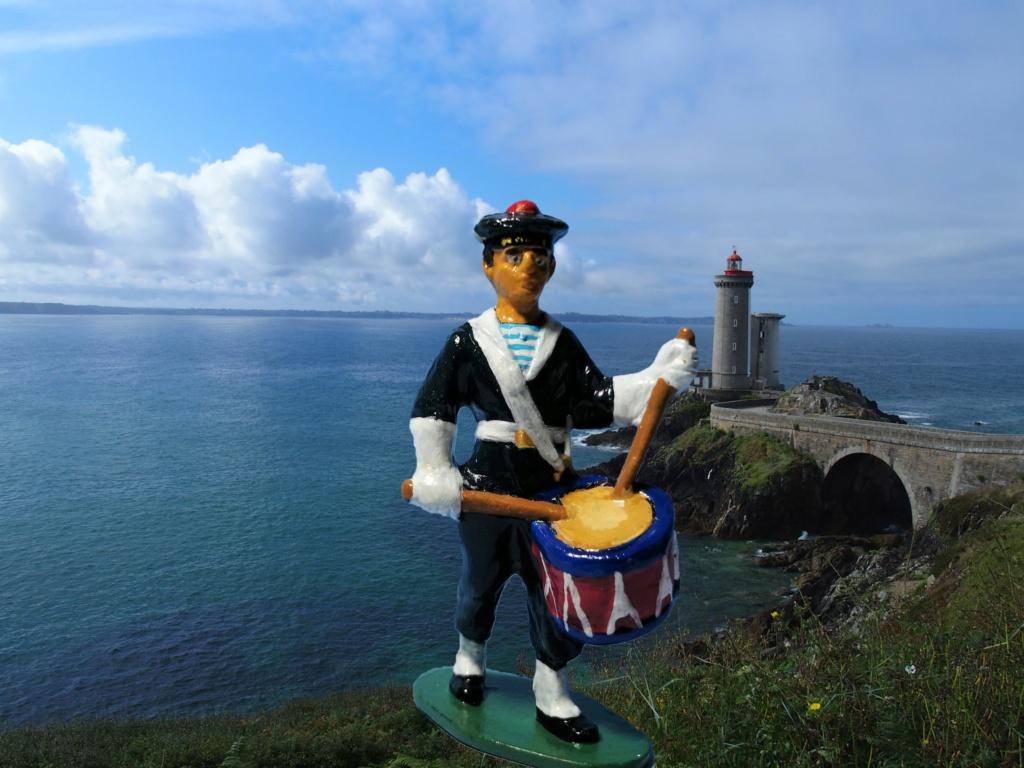 Marin avec tambour marque Quiralu 1/32 Pointe10