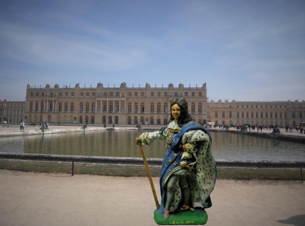 Louis XIV figurine Mokarex 54mm Versai10