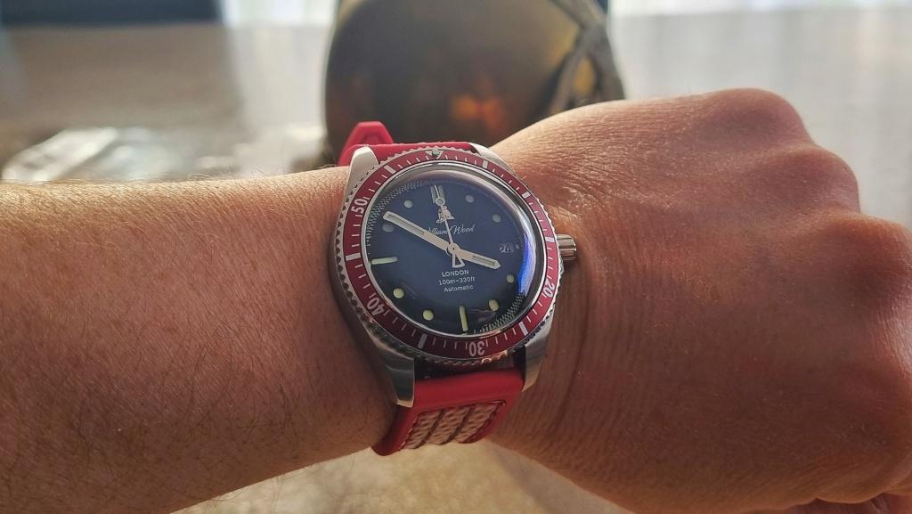 William Wood, une montre hommage aux pompiers anglais  20210320