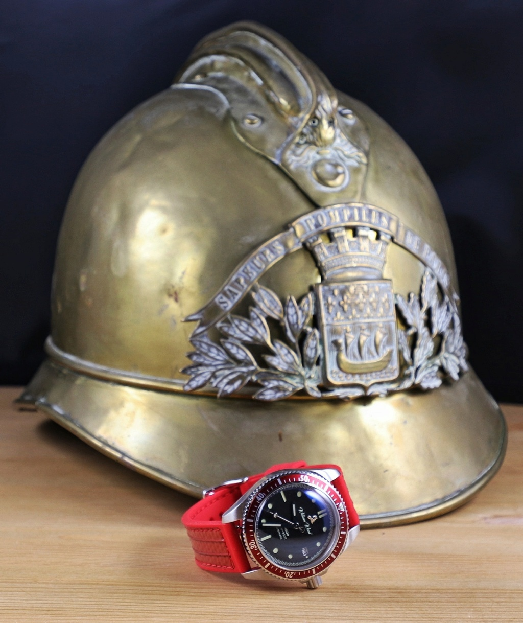 William Wood, une montre hommage aux pompiers anglais  Img_2095