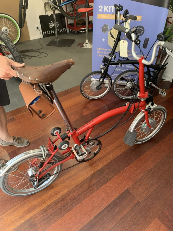 MONSPAD, spécialiste de l'électrification de vélo à Paris, bonne idée ? F9a50810