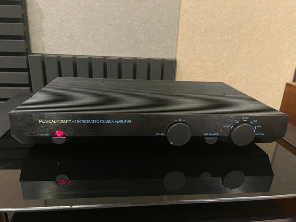 Music fidelity A1 class integ amplifier sold  106b0710