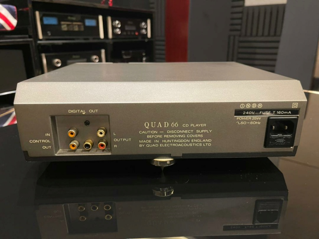 Quad 66 audiophile CD player  15082d10